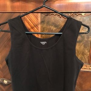 Black Comfortable Sleeveless Dress